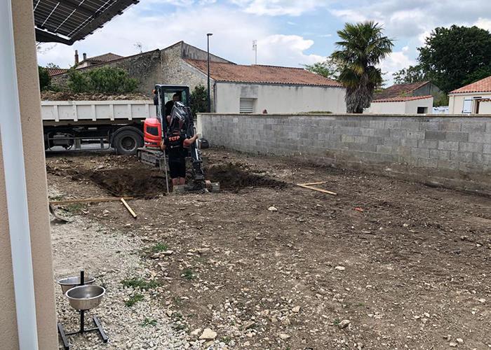 société de terrassement La Rochelle